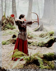 "Open RP Queen Susan) I was shooting my bow in the woods when I heard footsteps. ""Who's there?"" I call"