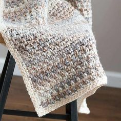 Jane Crochet Throw & Easy Crochet Blanket Pattern - Use this simple pattern for all your crochet blankets and throws! Make this afghan smaller and use it as a crochet baby blanket too! You can hand crochet this beautiful crochet throw blanket today!