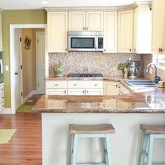 After Light and Airy New Space: After image for TOH Reader Remodel Kitchen 2012