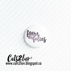 """3 badges 1 """"You are loved"""
