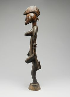 Senufo Female Poro Altar Figure (Ndeo), Ivory Coast Collection: Nelson A. Rockefeller