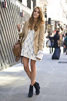 fringe boots street style | and Fringe, London | Street Fashion | Street Peeper | Global Street ...