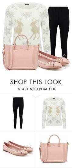 """""""look comodo"""" by nicollehart on Polyvore featuring moda, Boohoo, M&Co y Salvatore Ferragamo"""