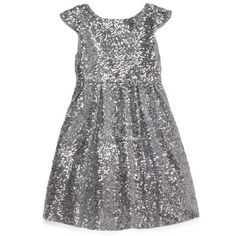 Moon Festival Silver Sequined Christmas Party Dress - ilovegorgeous