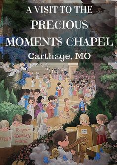 Plan a visit to this roadside attraction in Carthage MO Precious Moments Chapel