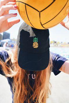 Pineapple Polo embroidered unisex baseball cap