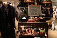 Club Monaco Men's Shop, Toronto store design