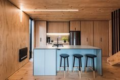 The 74sqm townhouse in Christchurch designed by Mitchell Coll of Coll Architecture.