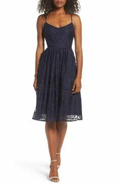 BB Dakota Galena Fit & Flare Dress