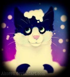 :FA: Frosty the kitten by Akorrn.deviantart.com on @DeviantArt