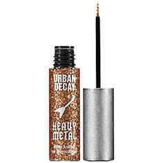 Heavy Metal Glitter Liner  Item # 893412 Size 0.25 oz  Color Baked - bold bronze glitter  QTY  $18.00