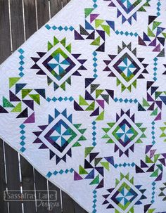 Main Street Quilt | Sassafras Lane Designs