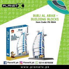 Product: Burj Ul Arab - Building Bocks Item Code: PX-9044 Price: Rs 4750  @planetx.pk  Whatsapp: 03148078508  Description: - LEGO COMPATIBLE - Enhances childrens imagination and creativity - Type: Building Blocks (1307 PCS) - Color: Multi-Color - Weight: 1.9 kg - Dimensions: 50 x 30 x 9 cm - Age: 3 years  #CashOnDelivery #Pakistan #Karachi #Islamabad #Lahore #PlanetX #PakistanShopping #LikeForLikes #F4F #FollowForFollow #LearningKids #Toy #InstagramPakistan #ShopNow #OrderNow #TwinTower…