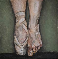Oil on canvas -15x15 -Alessandra Spigai
