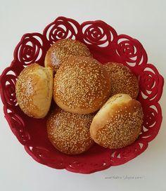 Ev Yapımı Hamburger Ekmegi Tarifi Healthy Eating Tips, Healthy Nutrition, Vegetable Drinks, Fruits And Vegetables, Hamburger, Muffin, Food And Drink, Snacks, Meals