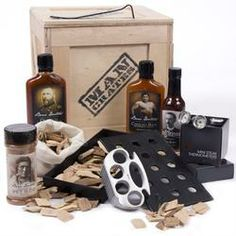 The Grill Master Crate is the ultimate grilling gift for meat mastery, replete with the all the bbq gadgets and meat spices to make any protein submit to its true master. Bbq Gifts, Grilling Gifts, Gifts For Dad, Great Gifts, Happy Daddy Day, Happy Fathers Day, Fathers Day Gifts, Best Groomsmen Gifts, Groomsman Gifts