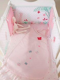 Tour de lit Happy Papillons  - vertbaudet enfant