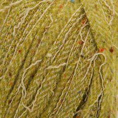 Tweedová stužková příze Marlen zelený melír