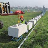 #Precast #Concrete kentledge blocks for temporary fencing panels