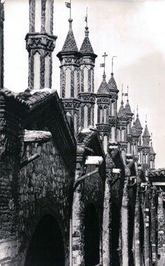 Pinnacoli della  Chiesa del Carmine - 1961