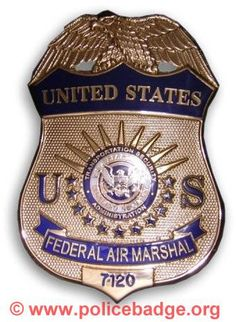 Badge US Airmarshal by dynamicentry122, via Flickr