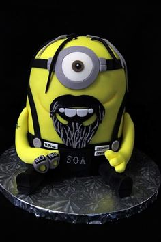 Sons of Anarchy mignon Minion Characters, Fictional Characters, Tommy Flanagan, Sons Of Anarchy, Minions, Creative Design, Cute, Movies, Awesome Cakes