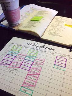 Planner substitute