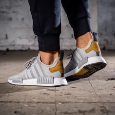 "adidas NMD R1 ""Master Craft"" Foot Locker Exclusive See more FILET. Clothing #filetclothing"