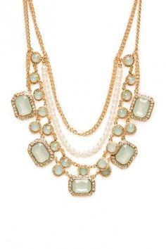 Glacial Pearls Necklace