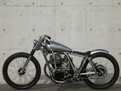 wow, glad i found this via Ruud-EllTorro Motor Garage Goods has made an insane amount of customs. this is just a small selection of what t. Scooter Motorcycle, Moto Bike, Bobber Bikes, Cool Motorcycles, Chopper Frames, Motorised Bike, Drift Trike, Bobber Chopper, Garage Art