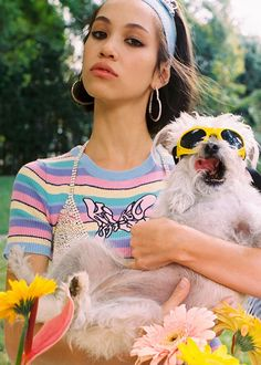 Rad and inspired by the '90s, UNIF recently collaborated with Kiko Mizuhara on their latest collection, full of bright colors and trendy shapes.
