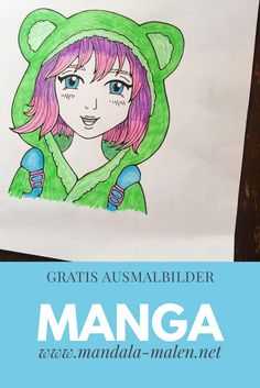 Kostenlose Ausmalbilder Mangas ausdrucken und ausmalen. Manga Anime