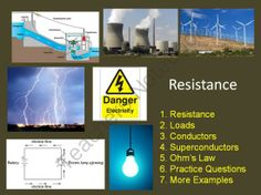 Electrical Resistance - Everything you need to teach Electrical Resistance is right here including multiple simulations embedded right into the Power Point. Please view the Preview File. In order, the lesson covers: - Resistance - Loads - Conductors - Superconductors - Ohm's Law - Practice Questions - More Examples