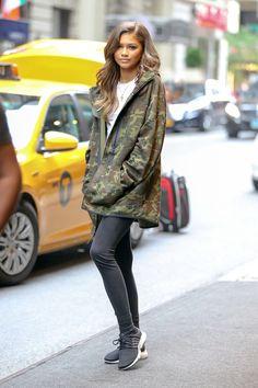 Kendall Jenner, Zendaya and Keke Palmer Wear Camo Jackets   Teen Vogue