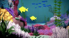 La conservación de nuestros espectaculares arrecifes de coral, vulnerabl...