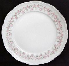 """Lady Beatrice by Mitterteich Bavaria Germany Dinner Plate German Gold Trim 10.5"""" #Mitterteich"""