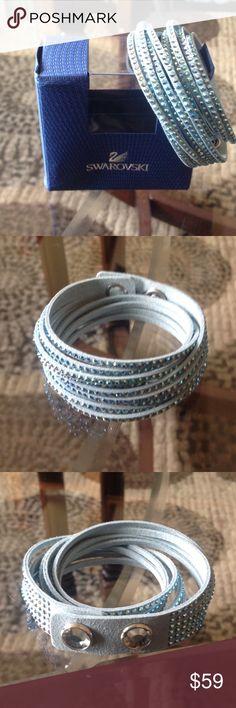🌺NEW! BEAUTIFUL SWAROVSKI WRAP BRACELET BRAND 🌺NEW! BEAUTIFUL SWAROVSKI WRAP BRACELET-NEVEr WORE! EXCELLENT NEW CONDITION!! Swarovski Jewelry Bracelets