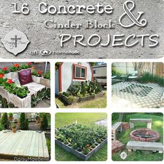 16 concrete cinder block projects, gardening, outdoor living, repurposing upcycling, From decks