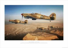 Hawker Hurricanes - The Macrobert Fighters by Adam Tooby - BFD Military Jets, Military Aircraft, South African Air Force, Hawker Hurricane, Airplane Art, Supermarine Spitfire, Ww2 Planes, Ww2 Aircraft, Royal Air Force