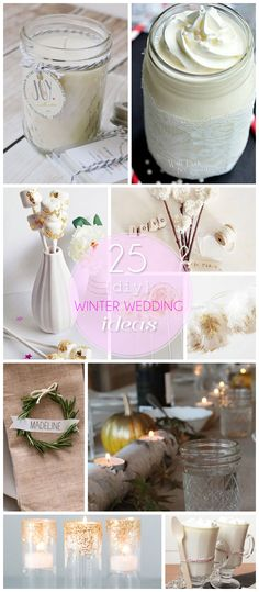 Burlap Ring Pillow for Less Than $10 | 25 DIY Winter Wedding Ideas ...