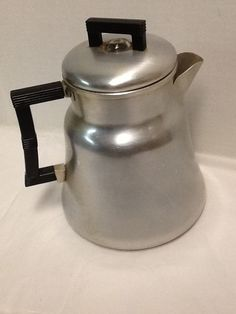 Drip Coffee Pot VINTAGE Wearever Aluminum BAKELITE