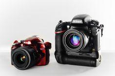 Großansicht Fotoapparat D3200 D800 Nikon