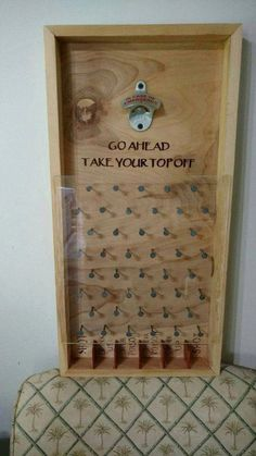 A great game to hang at your bar or man-cave. Sure to add fun to your parties or tailgates A wonderful gift to use for any holiday, wedding, and birthday. We can customize the bottom sayings to your liking free of charge. The corners are boxed splined w Wood Crafts, Diy And Crafts, Backyard Bar, Wedding Backyard, Backyard Games, Garden Games, Garden Bar, Ideias Diy, Home Projects