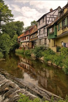 Seriously, I need to go here.  River Weiss in Kaysersberg by Foto Martien, via Flickr