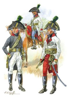 uniforms of napoleonic austrian staff officers Google