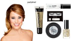 make-up look: Partytime!