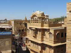 Jaisalmer Jaisalmer, Mansions, House Styles, Home Decor, India, Mansion Houses, Homemade Home Decor, Manor Houses, Fancy Houses