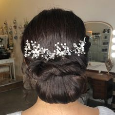 Bridal updo by Glam In Van (Carly Martin) in Vancouver