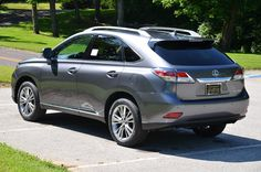 2013 Lexus RX 350 in new Nebula Gray Pearl over Saddle Leather interior with Espresso Bird's Eye Maple accents.   Maybe 2014?