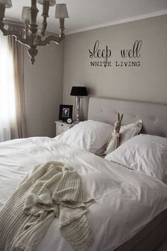 White Living: sleep well - bedlinen giveaway